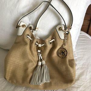 Michael Kors Straw Bag